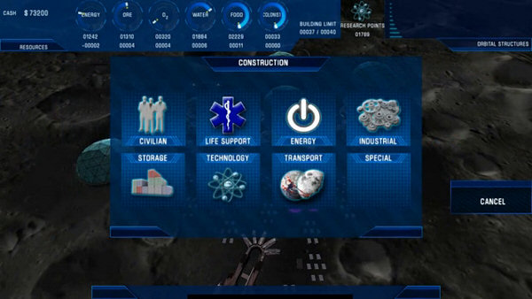 Colonisation: Moonbase | Space construction and management simulation - Kickstarter