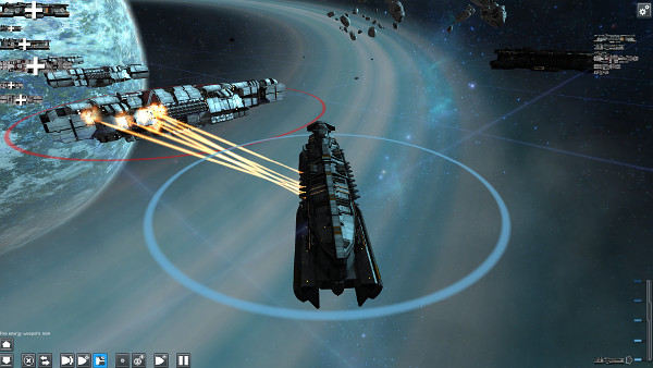 Contact Vector | Real-time space strategy game currently on Kickstarter