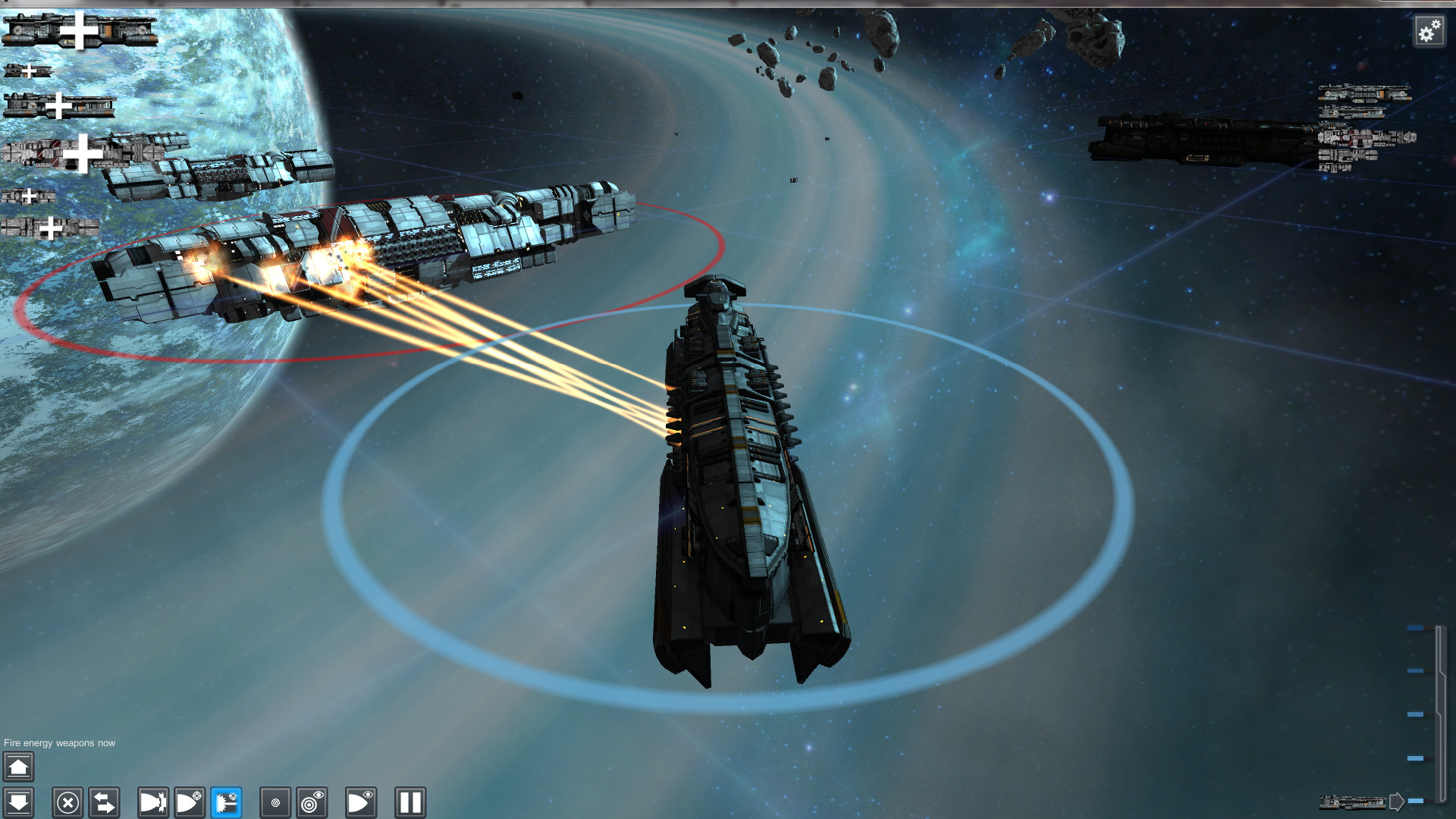 "Contact Vector: A ""Fight With What You Have"" Space RTS"