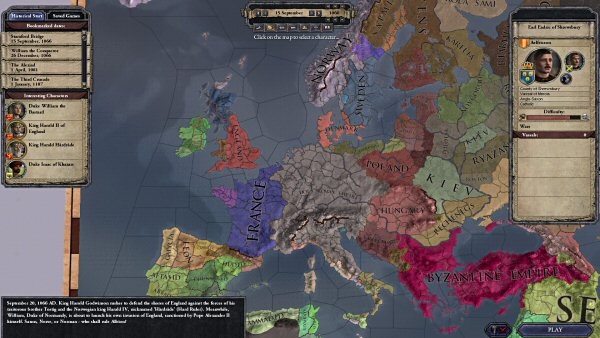 Crusader Kings II - Play with any Catholic lord in Europe