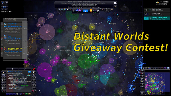 Distant Worlds | Giveaway contest