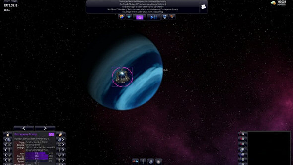 In its first release, Distant Worlds was still dipping its toe in the water