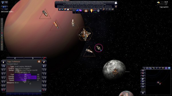 Distant Worlds: Universe | Pirate Gameplay. Private sector seems more diligent now. To be confirmed.