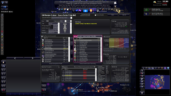 Distant Worlds: Universe - Ship design is not very pretty and may seem a bit daunting at first but it's fun when you learn how to use it properly
