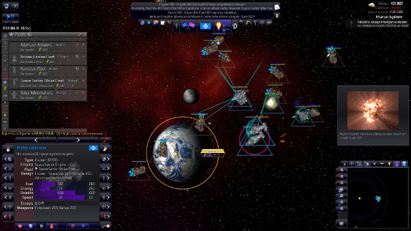 Distant Worlds: Universe - Space battles in (pausable) real-time
