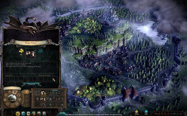 Eador: Masters of the Broken Worlds - Constructing Buildings
