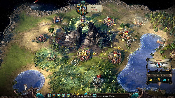 Eador: Masters of the Broken Worlds - Strategic View