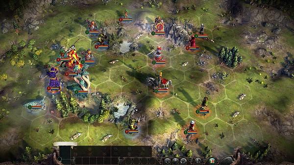 Eador: Masters of the Broken Worlds - Tactical Battles
