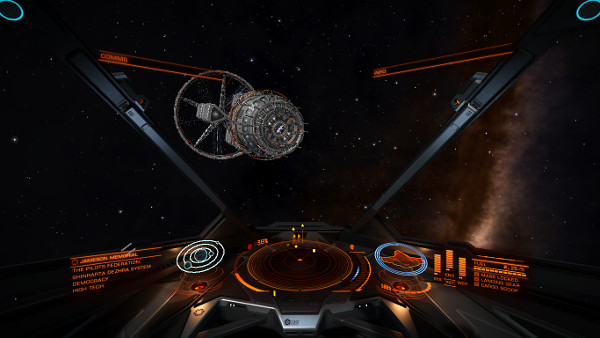 Elite: Dangerous | Guess it's time to reevaluate my loadout, and get some fresh supplies.