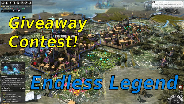 Endless Legend Giveaway Contest