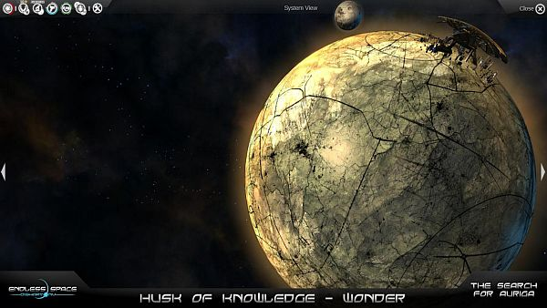 Endless Space: The Search for Auriga (free add-on)