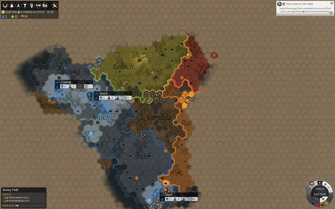 endless legend  early access available and brief