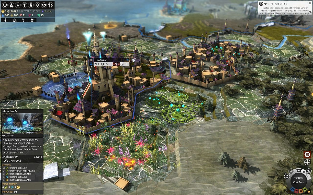 Endless Legend Building Cities