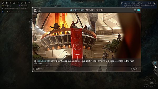 Endless Space 2 Early Access - Now you've done it, the scientists are here to stay