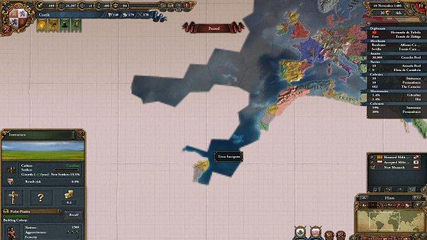 Europa Universalis IV | Exploring the New World