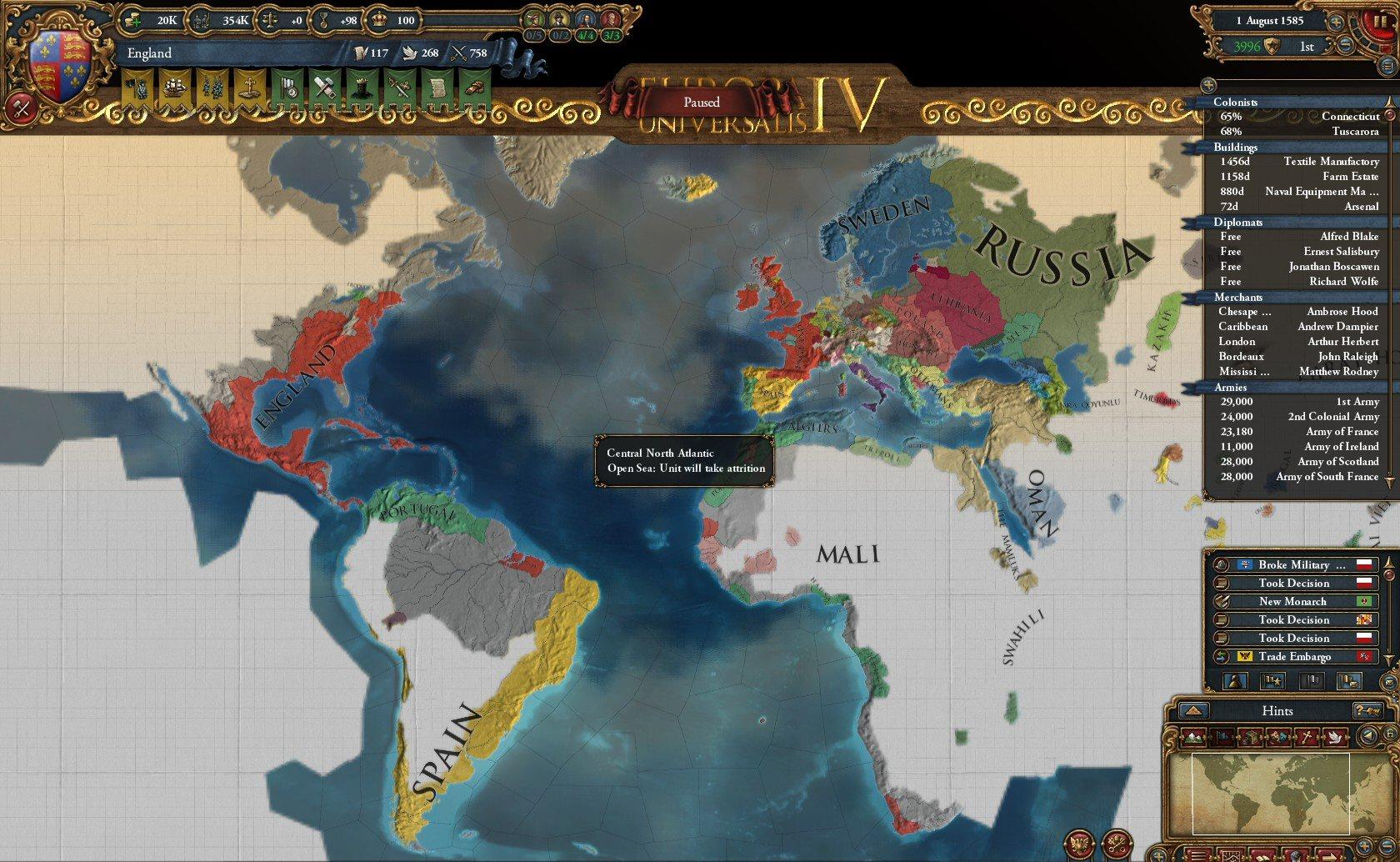 Europa universalis 4 trade system