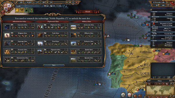 Europa Universalis IV | Technologies and Ideas