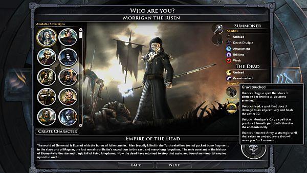 Fallen Enchantress: Legendary Heroes - Morrigan looks more impressive than she is