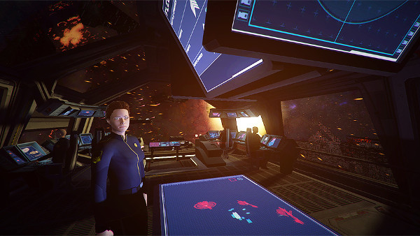 """""""Captain on the Bridge"""" - Flagship 