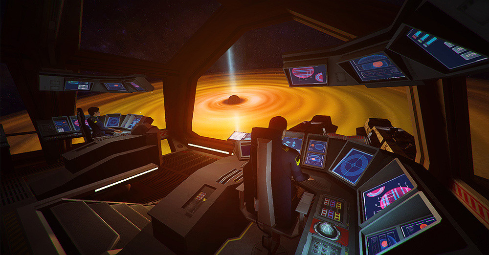 First Person Space Games