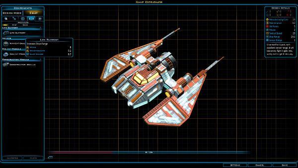 Galactic Civilizations 3 | Ship designer