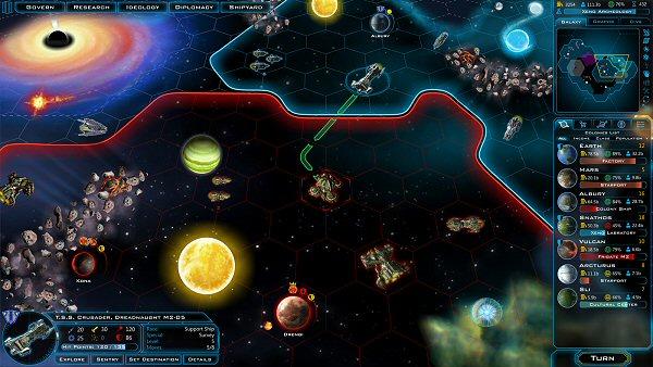 Galactic Civilizations 3 | Starmap