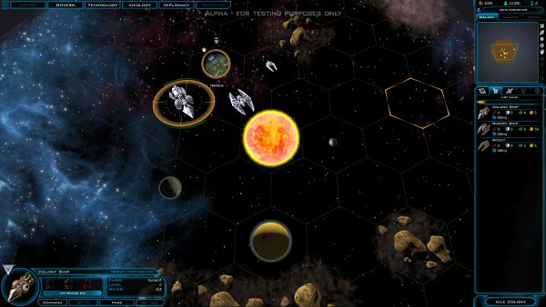 Galactic Civilizations 3 (Early Access - March 2014) | Turn-based space 4X strategy game by Stardock