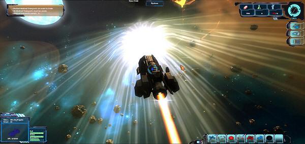 Gemini Wars: Hyperspace jump