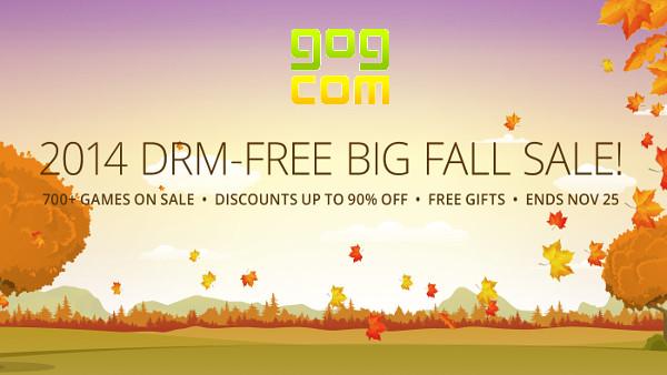 GoG's 2014 Fall Sale