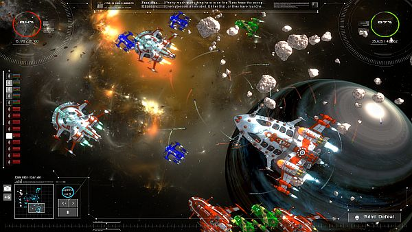 Gratuitous Space Battles 2 Beta | The Pristine Enemy Fleet... for now
