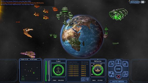 Horizon | Space 4X game - Tactical Combat