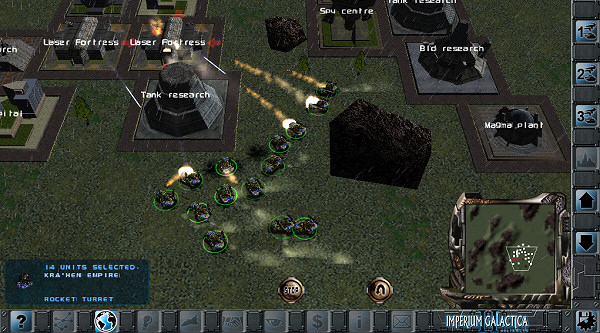 Imperium Galactica 2 for the iPad