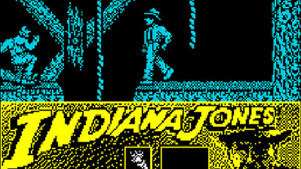 Indiana Jones and the Last Crusade: The Action Game (1989) - ZX Spectrum 128