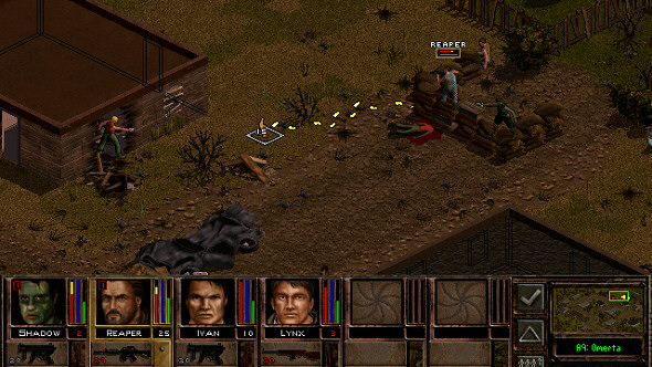 Jagged Alliance 2 - Turn-based tactical combat