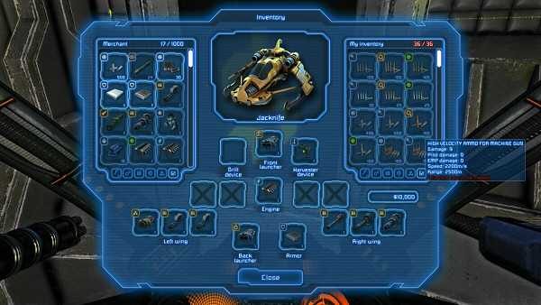 Miner Wars 2081 | Weapons and Equipment