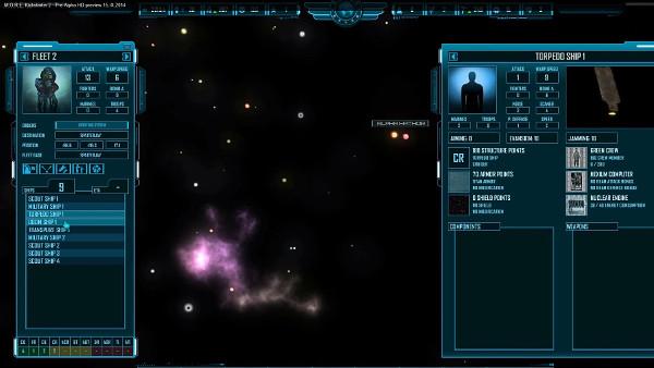 M.O.R.E.   Starmap and fleet management