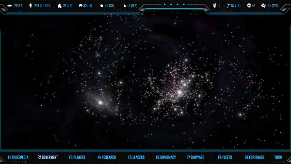 MORE: Space 4X game | User Interface