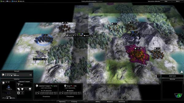 Pandora: First Contact | Sci-fi 4X game