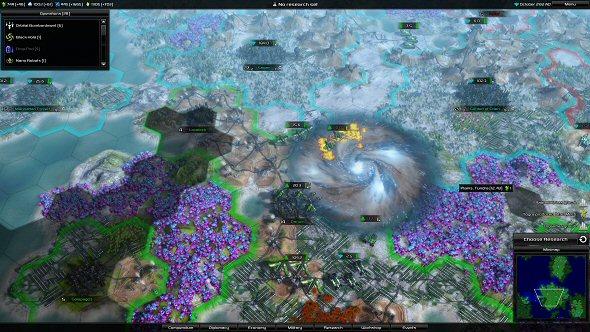 Darwin went into oblivion (Black Hole operation)