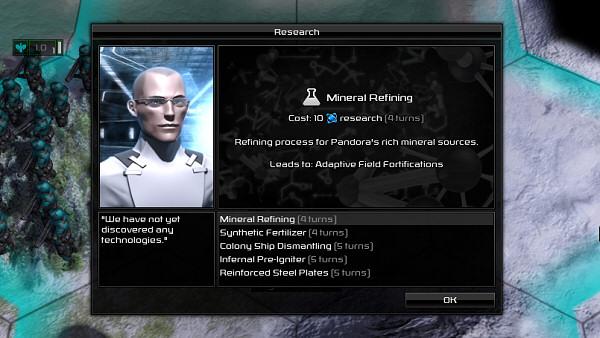 Pandora: First Contact | Research
