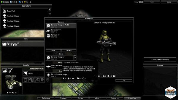 Pandora: First Contact - Unit Design