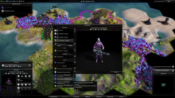 Pandora: First Contact - The Workshop (unit customization)
