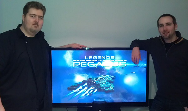 Peter and Andre from Novacore Studios (Legends of Pegasus)