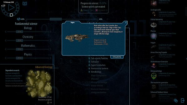 Polaris Sector Announced | Its unique research system doesn't utilize a traditional tech tree
