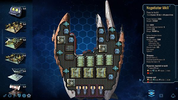 Polaris Sector   One of my destroyer designs