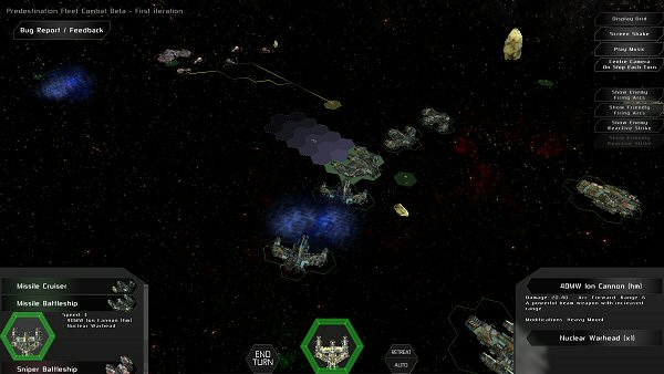 Predestination - Turn-based tactical combat