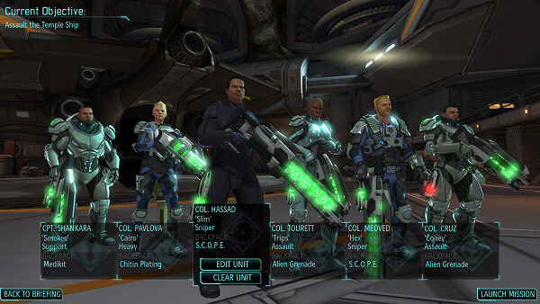 """Present you my X-COM Dream Team"""