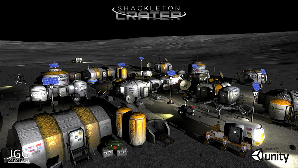 Shackleton Crater | Turn-based colony-building strategy/sim