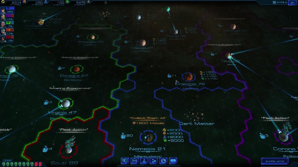 Sid Meiers Starships | Strategic (turn-based) layer