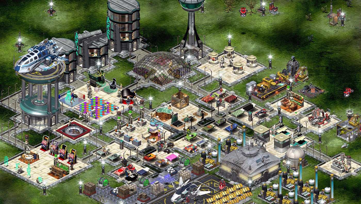 Steam Free City Building Games